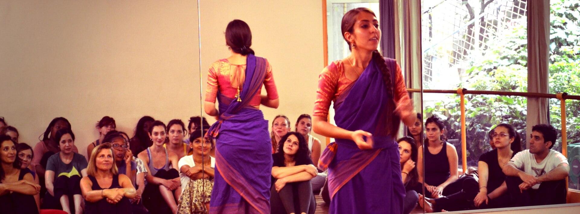 Mahina Khanum cours danse Odissi
