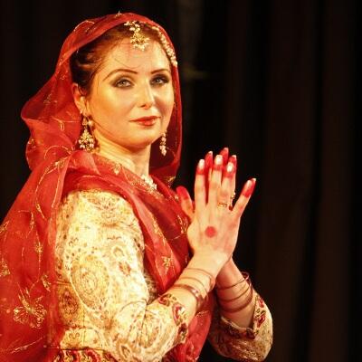 Isabelle Anna Kathak Festival de danses classiques indiennes Mouvements Emouvants