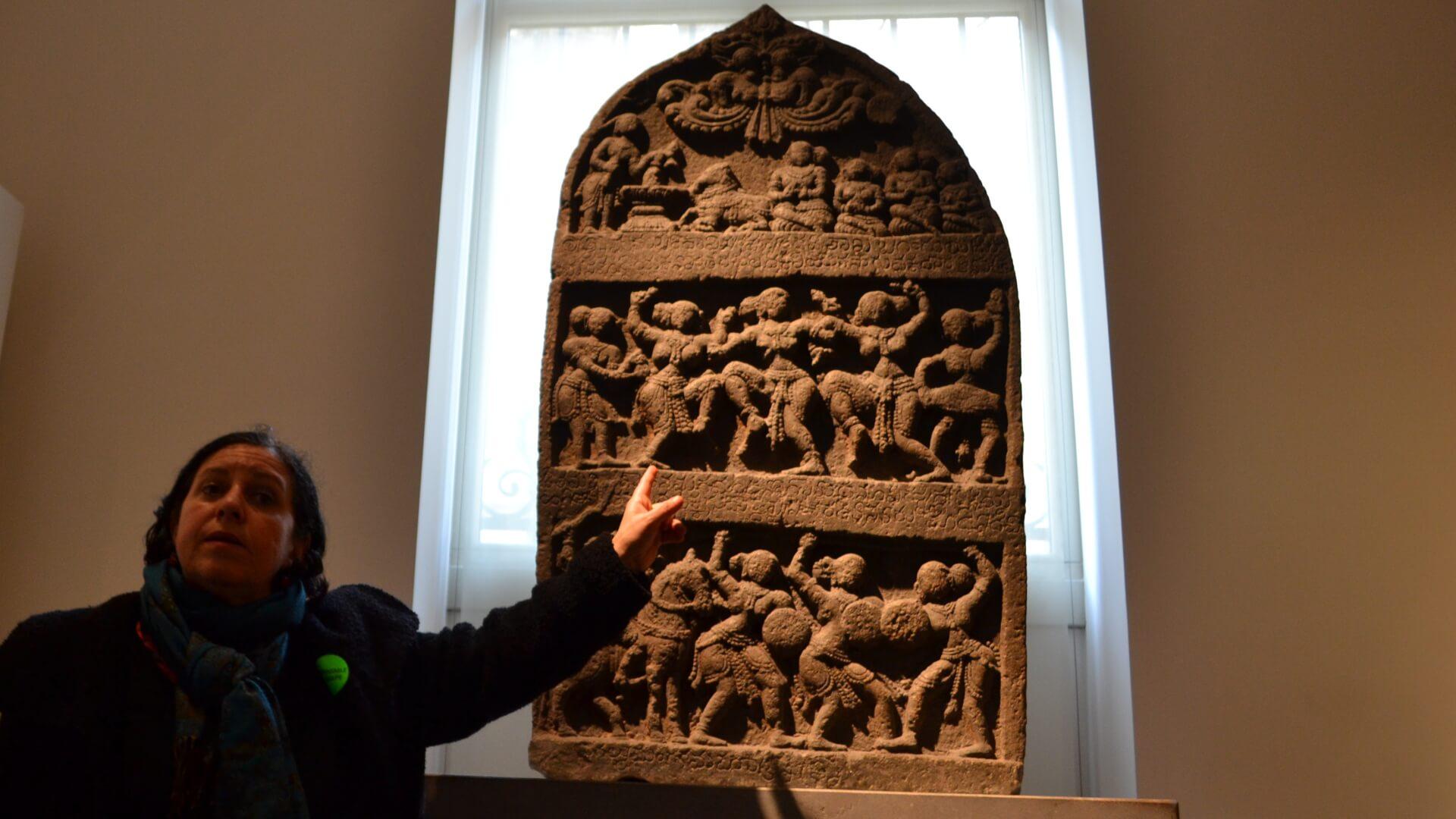 Danseuses sacrées indiennes au Musée Guimet