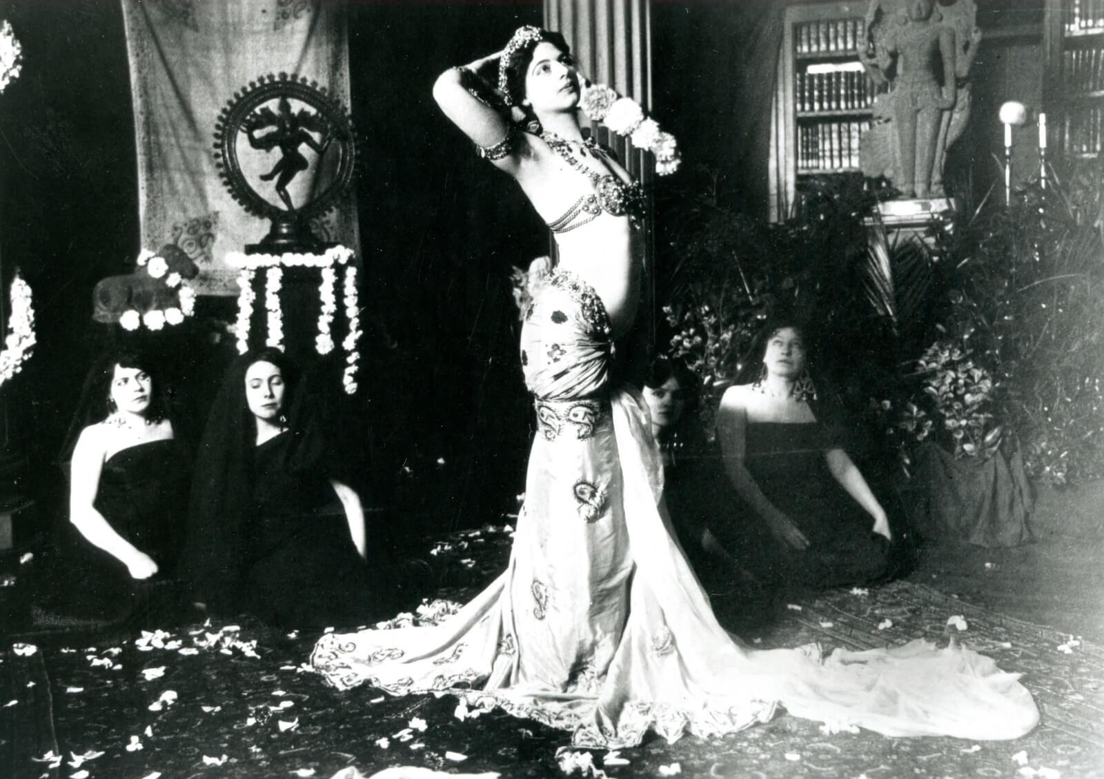 Mata Hari au Musée Guimet