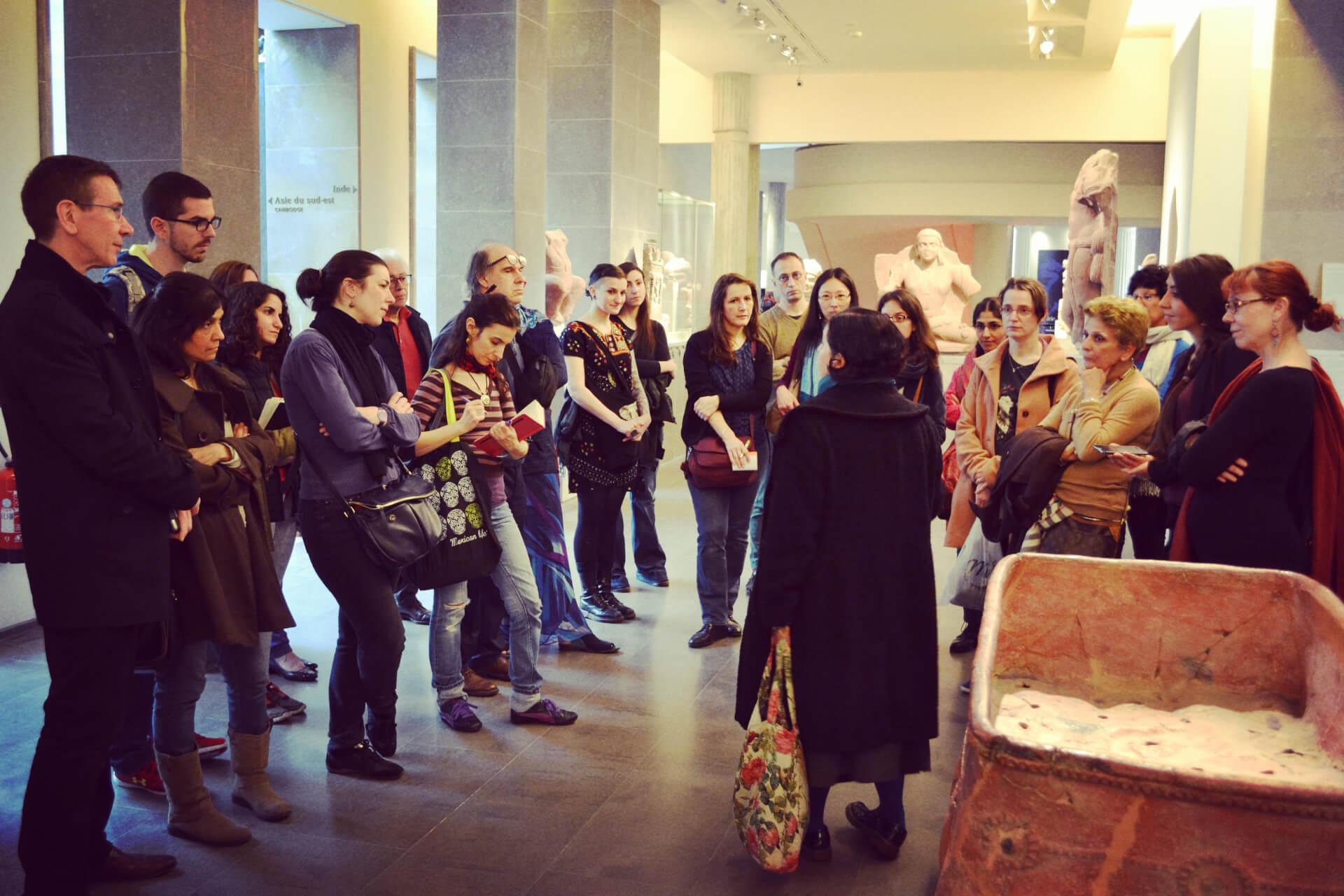 Visite commentée au Musée Guimet Festival Mouvements Emouvants