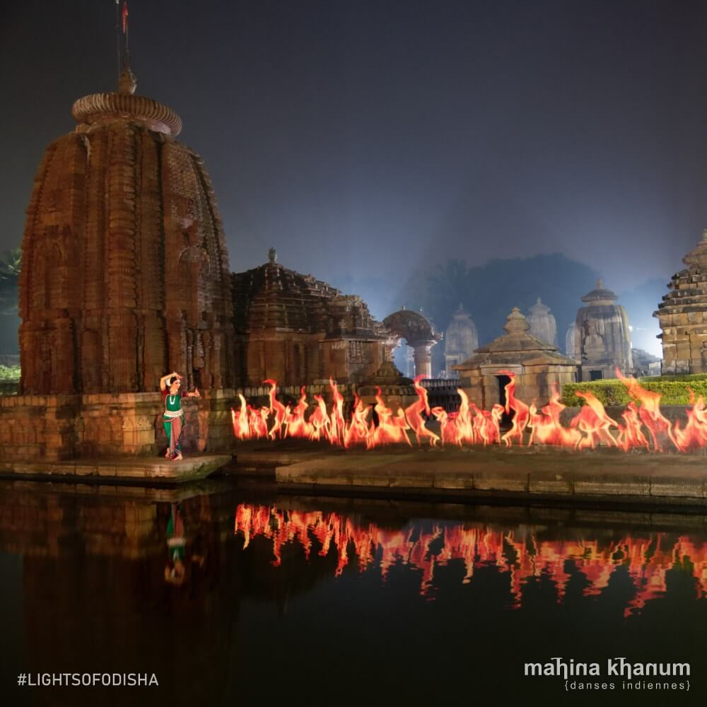 Mahina Khanum danse Odissi dance lightpainting Indian classical dance danse classique indienne
