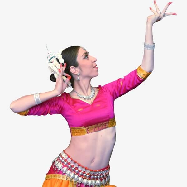 Danse indienne Odissi Mahina Khanum